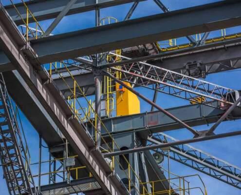 Die Abraumbrücke F60 in der Lausitz
