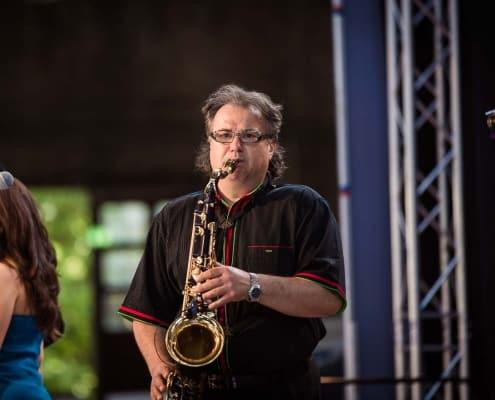 Konzert der George-Jackson Band
